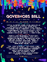 Musician, Band or Music Business Governors Ball in New York NY